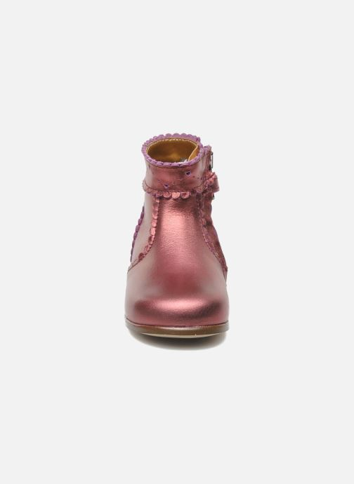 Bottines et boots Little Mary Odeline Bordeaux vue portées chaussures