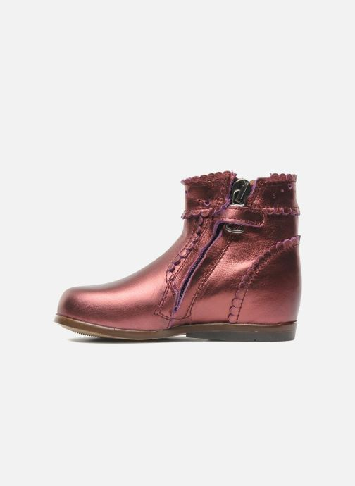 Ankle boots Little Mary Odeline Burgundy front view