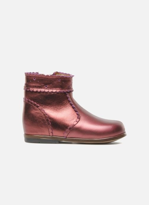 Ankle boots Little Mary Odeline Burgundy back view