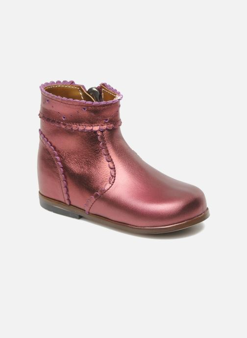 Ankle boots Little Mary Odeline Burgundy detailed view/ Pair view