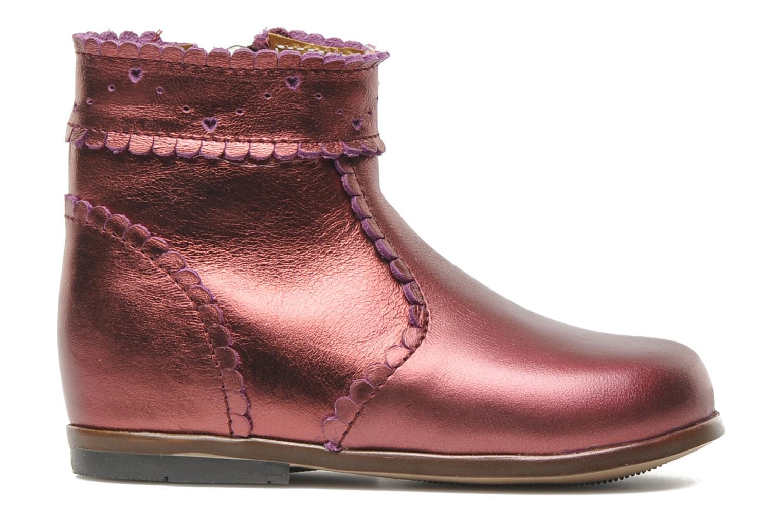 Bottines et boots Little Mary Odeline Bordeaux vue derrière