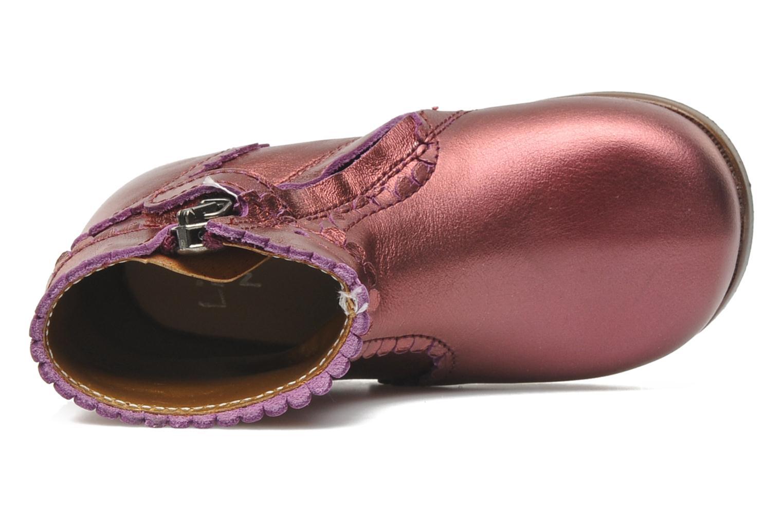 Bottines et boots Little Mary Odeline Bordeaux vue gauche