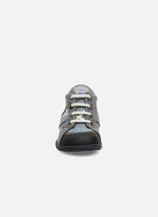 Baskets Little Mary Opas Bleu vue portées chaussures