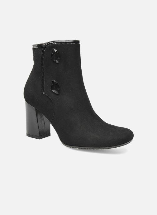 Boots en enkellaarsjes K by Karston Nelson Zwart detail
