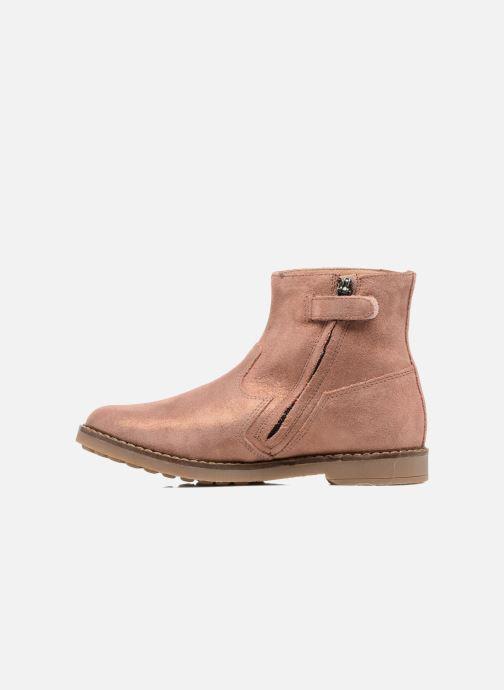 Boots en enkellaarsjes Pom d Api Trip Boots Bruin voorkant