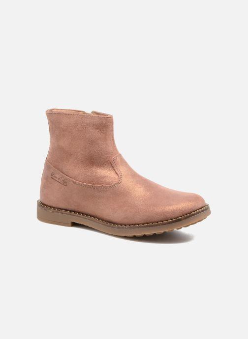 Boots en enkellaarsjes Pom d Api Trip Boots Bruin detail