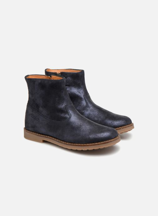 Bottines et boots Pom d Api Trip Boots Bleu vue 3/4
