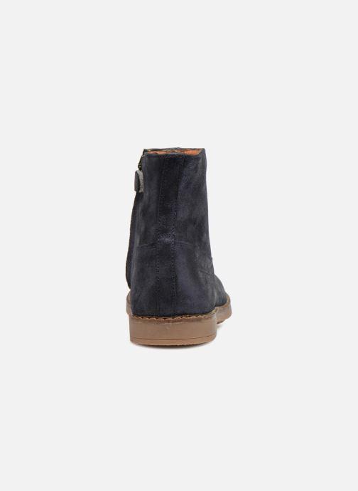 Boots en enkellaarsjes Pom d Api Trip Boots Blauw rechts