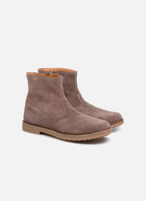 Bottines et boots Pom d Api Trip Boots Rose vue 3/4