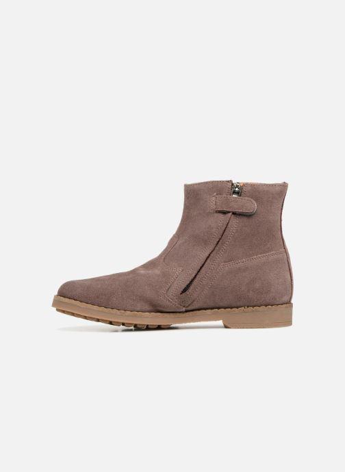 Boots en enkellaarsjes Pom d Api Trip Boots Roze voorkant