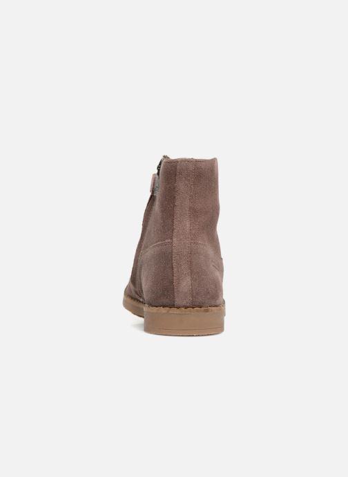 Bottines et boots Pom d Api Trip Boots Rose vue droite