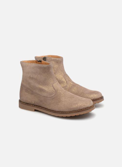 Bottines et boots Pom d Api Trip Boots Beige vue 3/4