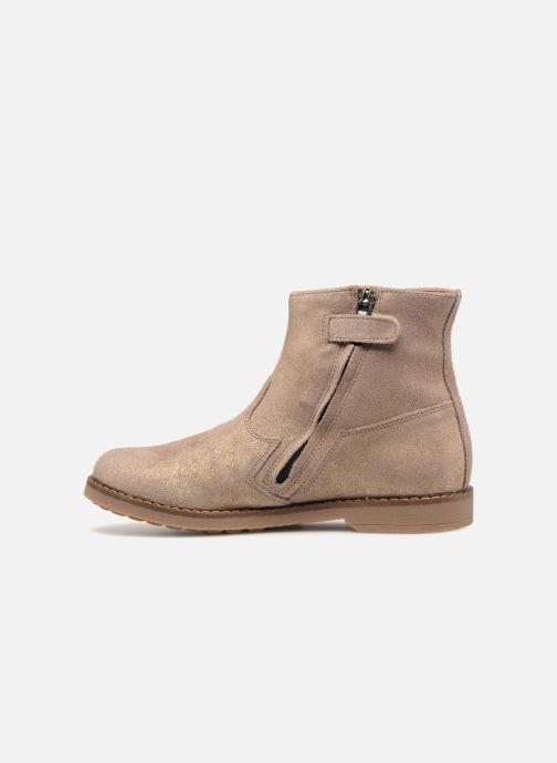 Bottines et boots Pom d Api Trip Boots Beige vue face