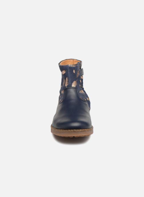 Stivaletti e tronchetti Pom d Api Trip Boots Azzurro modello indossato