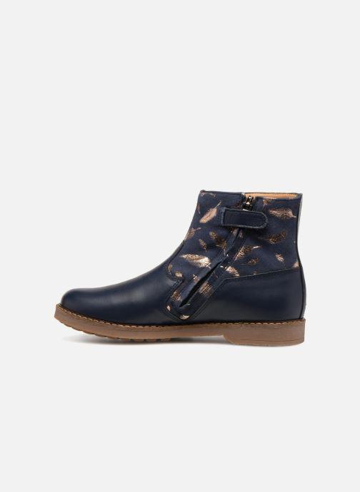 Bottines et boots Pom d Api Trip Boots Bleu vue face