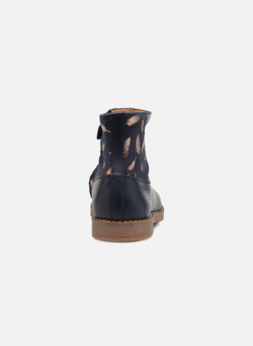 Bottines et boots Pom d Api Trip Boots Bleu vue droite