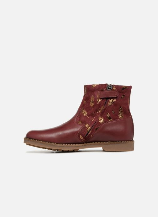 Ankle boots Pom d Api Trip Boots Burgundy front view