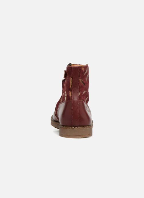 Ankle boots Pom d Api Trip Boots Burgundy view from the right