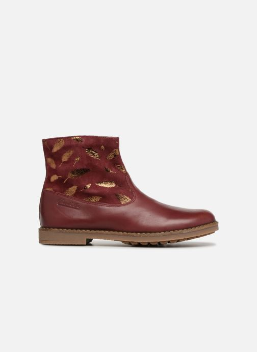 Ankle boots Pom d Api Trip Boots Burgundy back view