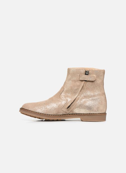 Ankle boots Pom d Api Trip Boots Beige front view