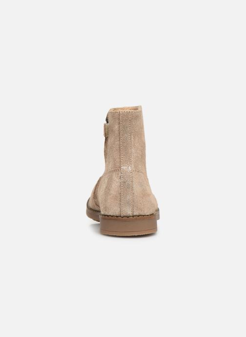 Ankle boots Pom d Api Trip Boots Beige view from the right