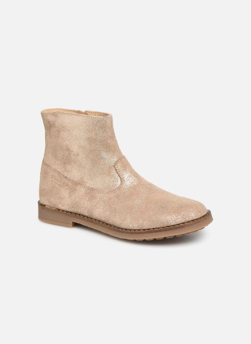 Ankle boots Pom d Api Trip Boots Beige detailed view/ Pair view