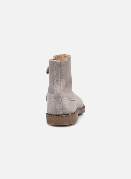 Bottines et boots Pom d Api Trip Boots Beige vue droite