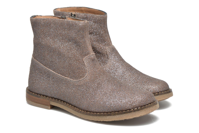 Bottines et boots Pom d Api Trip Boots Gris vue 3/4