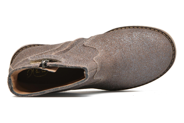 Bottines et boots Pom d Api Trip Boots Gris vue gauche