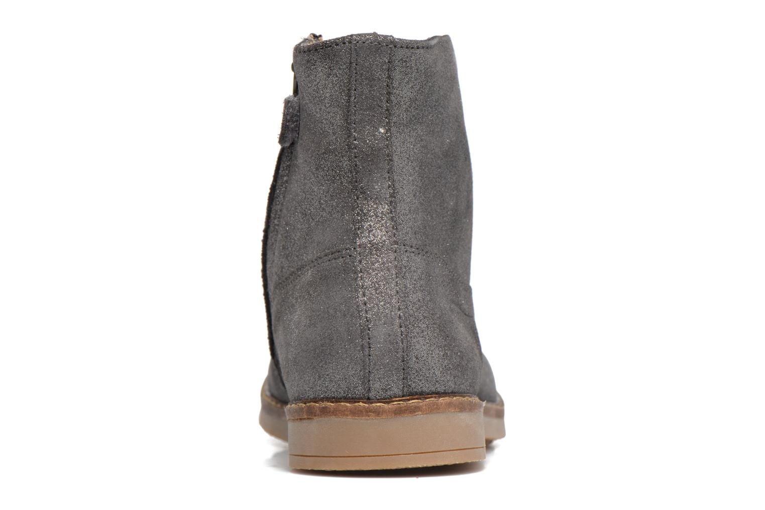 Ankle boots Pom d Api Trip Boots Grey view from the right
