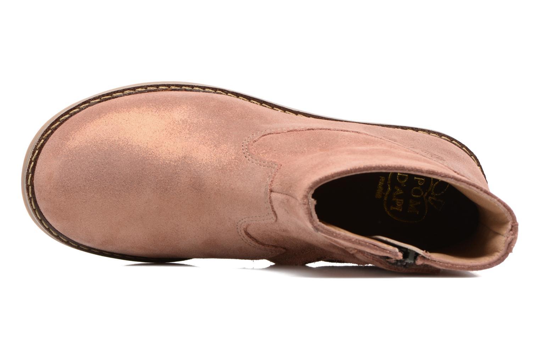 Boots en enkellaarsjes Pom d Api Trip Boots Bruin links