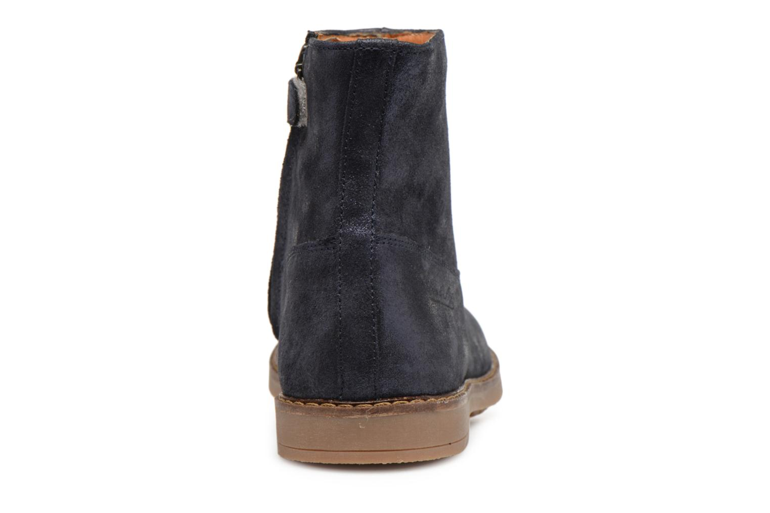 Ankle boots Pom d Api Trip Boots Blue view from the right