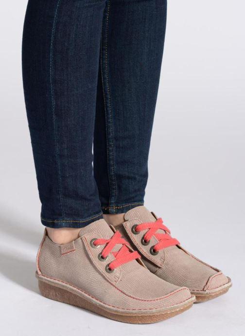 Zapatos con cordones Clarks Funny Dream Negro vista de abajo