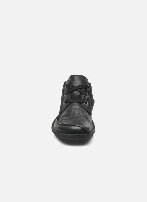 Schnürschuhe Clarks Funny Dream schwarz schuhe getragen