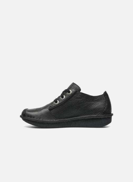 Lace-up shoes Clarks Funny Dream Black front view