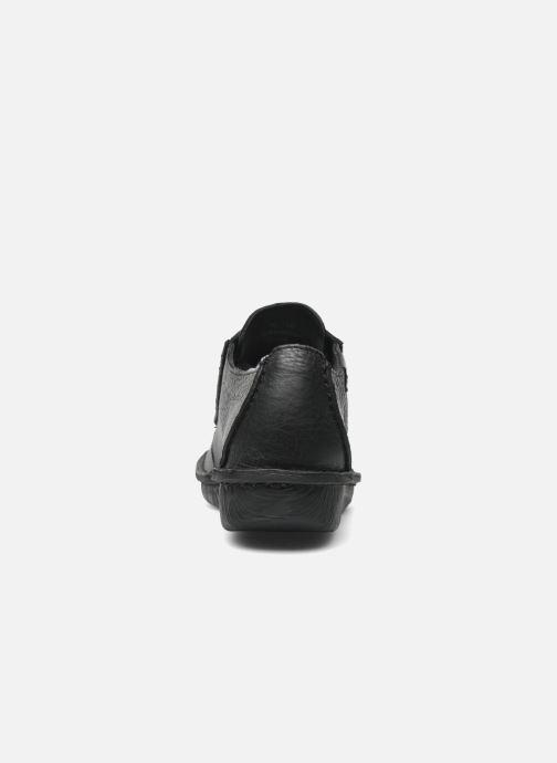 Zapatos con cordones Clarks Funny Dream Negro vista lateral derecha