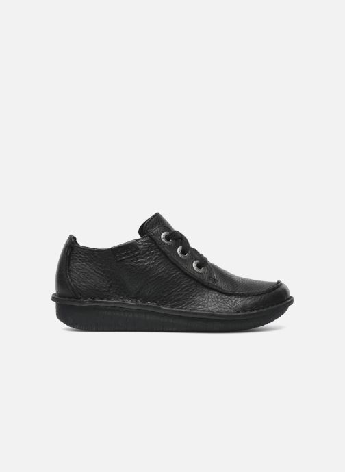 Lace-up shoes Clarks Funny Dream Black back view