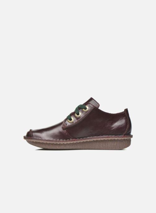 Chaussures à lacets Clarks Funny Dream Bordeaux vue face