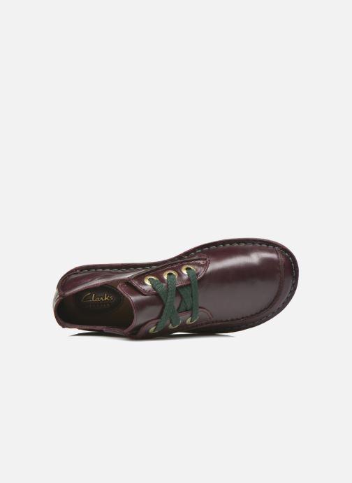 Chaussures à lacets Clarks Funny Dream Bordeaux vue gauche