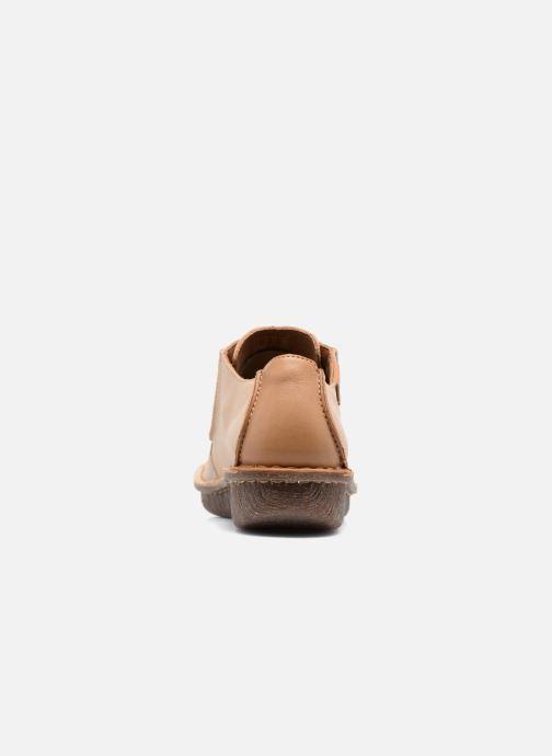 Chaussures à lacets Clarks Funny Dream Beige vue droite
