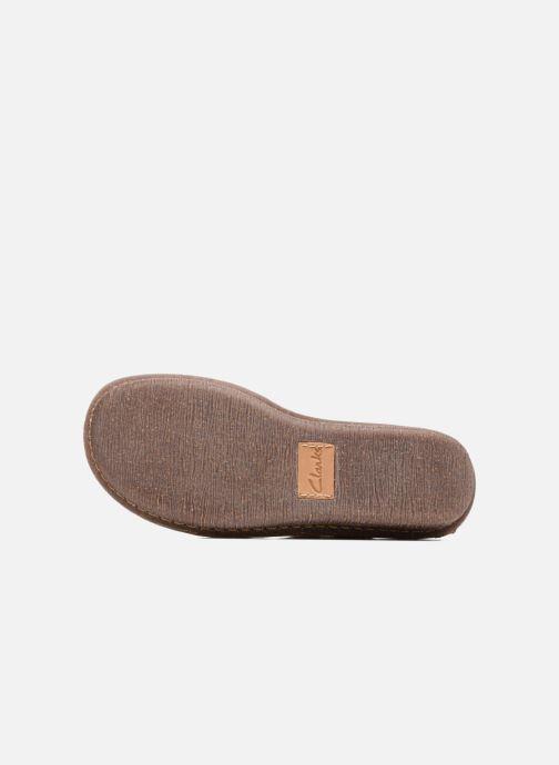 Chaussures à lacets Clarks Funny Dream Beige vue haut