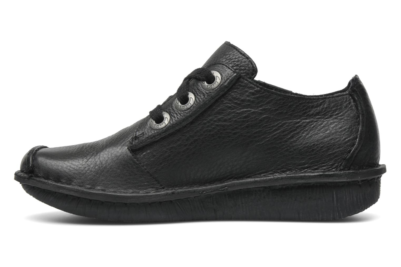 Chaussures à lacets Clarks Funny Dream Noir vue face