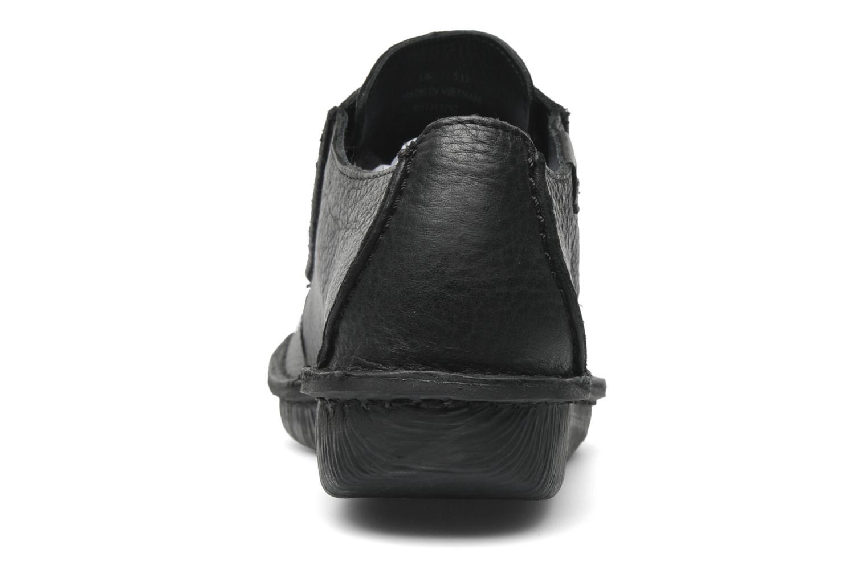 Chaussures à lacets Clarks Funny Dream Noir vue droite