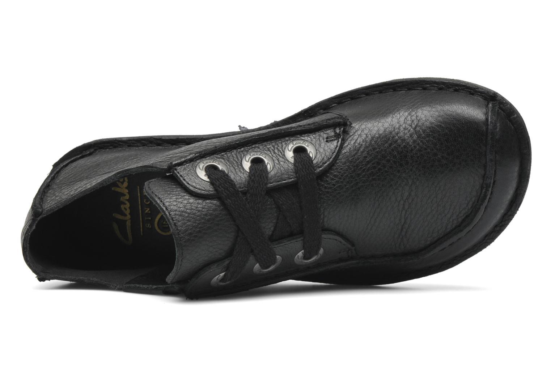 Chaussures à lacets Clarks Funny Dream Noir vue gauche