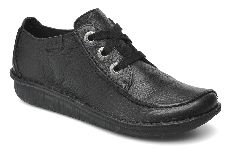 Chaussures à lacets Clarks Funny Dream Noir vue détail/paire