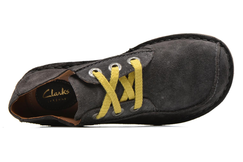 Chaussures à lacets Clarks Funny Dream Gris vue gauche