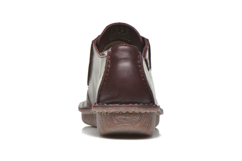 Chaussures à lacets Clarks Funny Dream Bordeaux vue droite