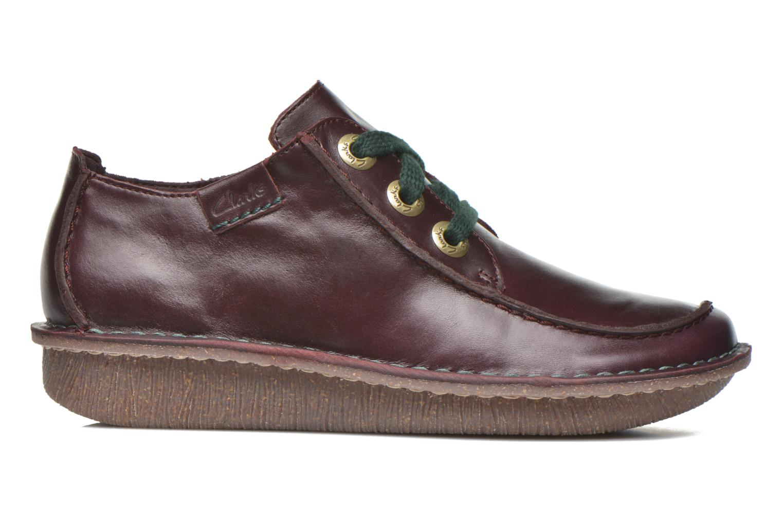 Chaussures à lacets Clarks Funny Dream Bordeaux vue derrière
