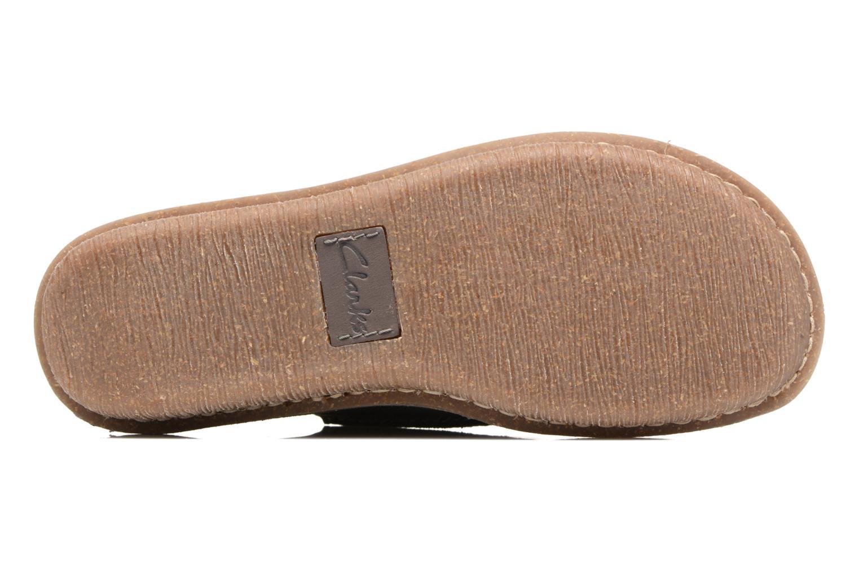 Chaussures à lacets Clarks Funny Dream Gris vue haut