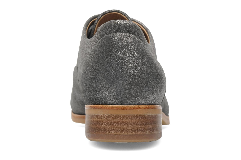 Chaussures à lacets Clarks Hotel Disco Argent vue droite